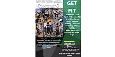GET FIT WITH CHRIS tickets