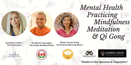 Mental Health Practicing Mindfulness Meditation & Qi Gong tickets