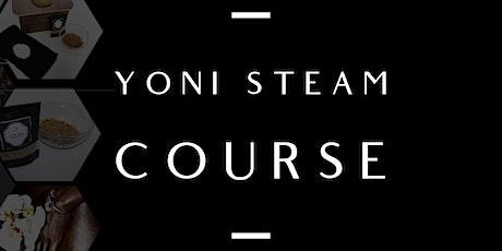 Yoni Steam Therapist Course  tickets