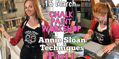 Furniture makeover: An Introduction to Annie Sloan Method tickets