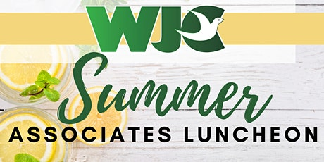 Summer Associate Luncheon tickets