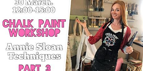 Furniture makeover workshop:  Annie Sloan Techniques, part 3 tickets