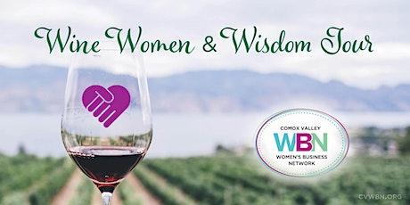 Wine, Women and Wisdom tickets