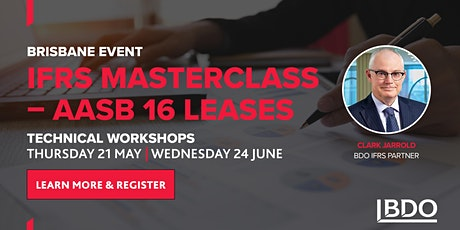 IFRS Masterclass - AASB 16 Leases (Brisbane) tickets