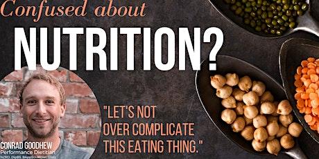 Lets Talk NUTRITION tickets