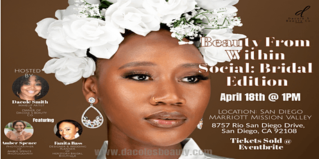 Beauty From Within Social :Bridal Edition with Live Bridal Makeup Demo tickets