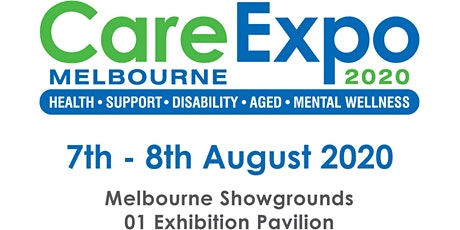 2020 Care Expo Melbourne tickets