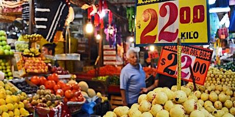 Mexico City mercado hop + street eats trek tickets