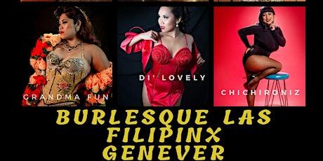 Burlesque Las FilipinX tickets