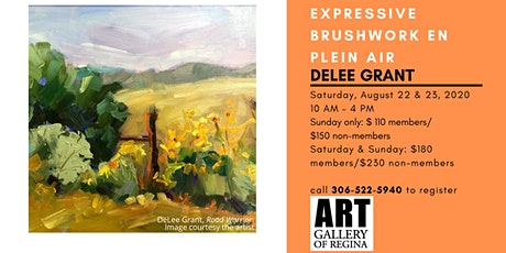 Expressive Brushwork en Plein Air with DeLee Grant tickets