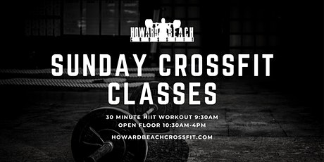 Sunday CrossFit Classes tickets
