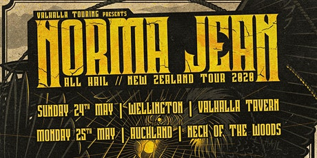 Norma Jean - All Hail - Wellington tickets