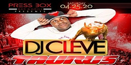 DJ Cleve Taurus Birthday Bash tickets