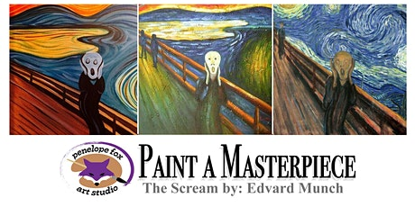Paint a Masterpiece: The Scream by Edvard Munch tickets