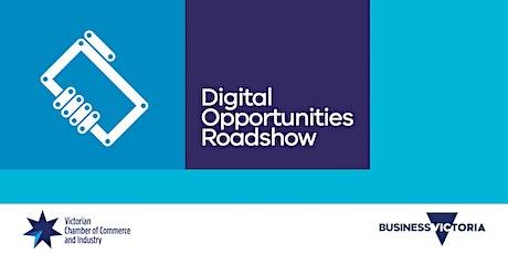 Digital Opportunities Roadshow - Sale tickets