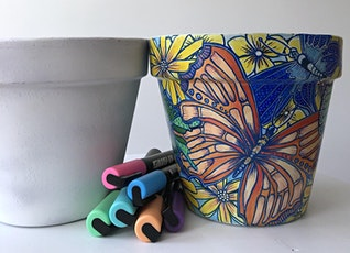 Paint a Pot : Learn to upcycle with art tickets