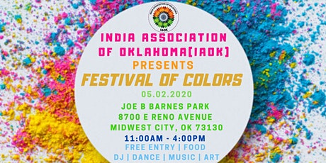 Free Festival of Colors tickets
