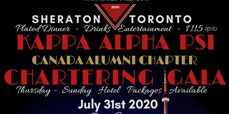 Kappa Alpha Psi - Canada Alumni Chartering Celebration tickets