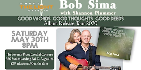 St Augustine FL: CD Release Concert with Bob Sima tickets
