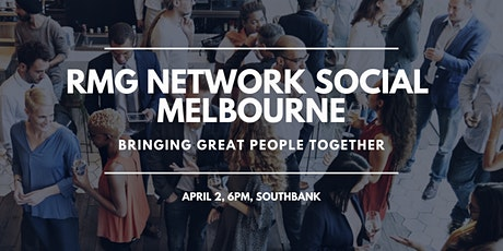 RMG Network Social - Melbourne - Virtual tickets