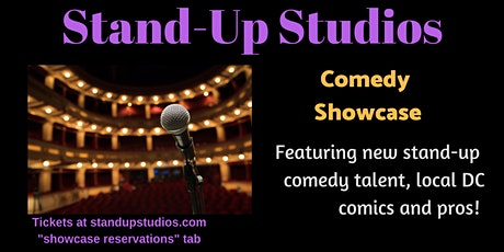 Stand-Up Studios Comedy Showcase - Saturday May 2, 7:30 PM Bethesda tickets