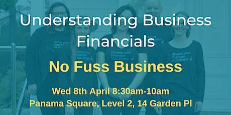 Understanding Business Financials - That's No Fuss tickets