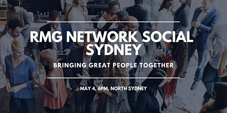 RMG Network Social - Sydney - VIRTUAL tickets