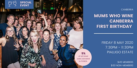 Mums Who Wine Canberra 1st Birthday tickets