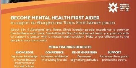 Aboriginal Mental First Aid Course - Campbelltown tickets