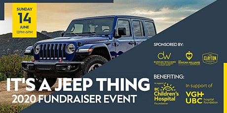 IT'S A JEEP THING 2020 FUNDRAISER tickets