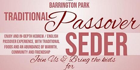 Barrington Park Passover Seder Day 2 tickets