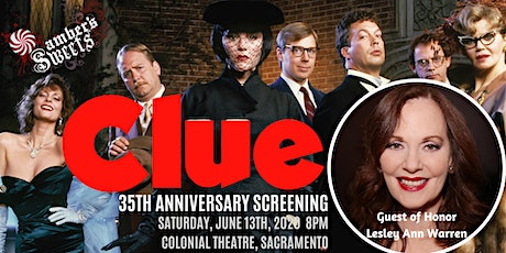 Clue with guest of honor Leslie Ann Warren tickets