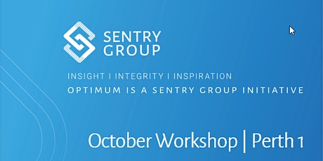 Optimum Workshop | Perth Group 1 | Tue 20 Oct 2020 tickets