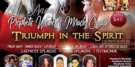 Prophetic Women's Miracle Crusade 2020 tickets