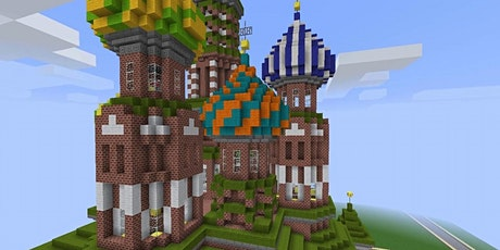 Architecture with Minecraft  8/3-8/7,  12:00 - 2:30 tickets