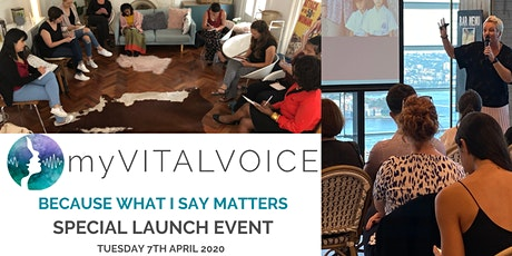 myVITALVOICE - Special Event Public Speaking for Women tickets