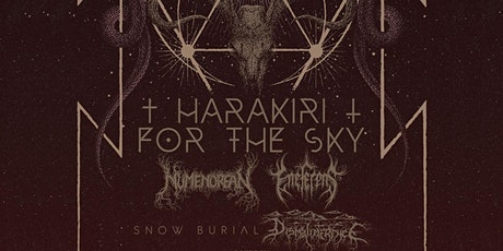 Harakiri for the Sky wsg Numenorean & Eneferens & Dismalimerence tickets