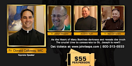 Triumph of the Immaculate Heart Conference- POSTONED UNTIL FURTHER NOTICE tickets