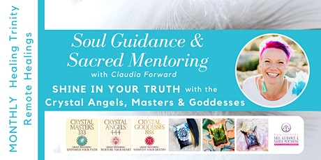 Monthly Healing Trinity - Soul Guidance and Sacred Mentoring  tickets