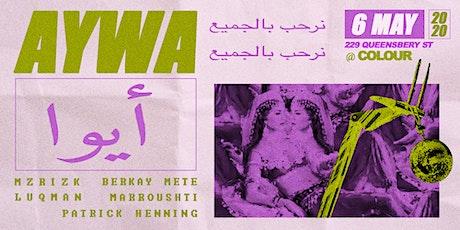 Aywa tickets