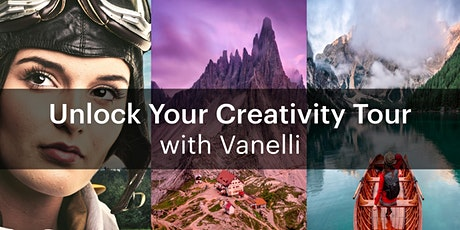 Unlock Your Creativity Tour with Vanelli — Chicago tickets