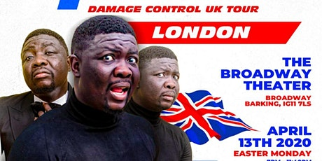 Seyi Law's Fast and Funny Damage Control London on  Easter Monday/13/April tickets