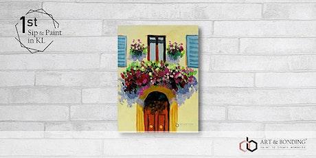 Sip & Paint Night : Summer Balcony tickets