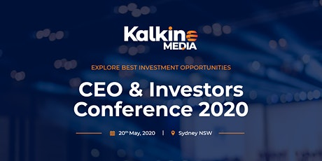 CEO and Investors Conference 2020 tickets