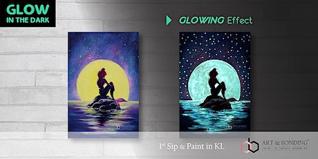Glow Sip & Paint : Glow - The Little Mermaid tickets