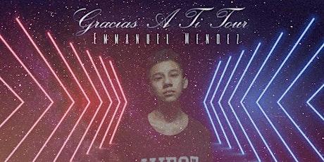 Emmanuel Mendez En Honduras Gracias A Ti Tour boletos