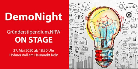 DemoNight des Digital Hub Cologne Tickets