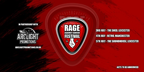 Rage Against Cancer Festival UK 2020 tickets
