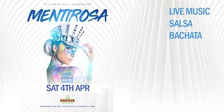 MENTIROSA - Salsa, Bachata & Live Band tickets