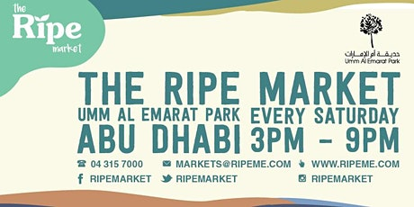 The Ripe Market at Umm Al Emarat Park, Abu Dhabi tickets